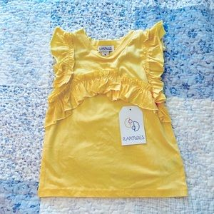 Flapdoodles Little Ruffle front Girls size 4